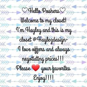 Poshers Welcome!!!